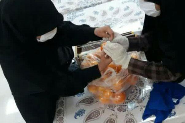عکس  ارسال میوه ویژه بیماران کرونایی استان اصفهان