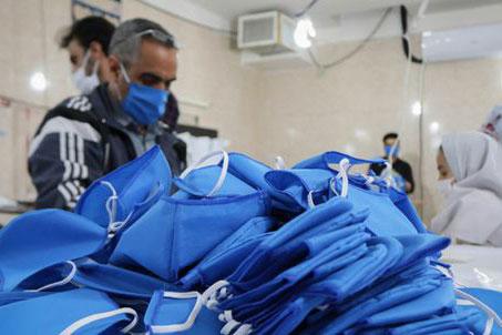 تحویل ۲۰۰۰ ماسک N۹۵ به بیمارستانهای گنبدکاووس