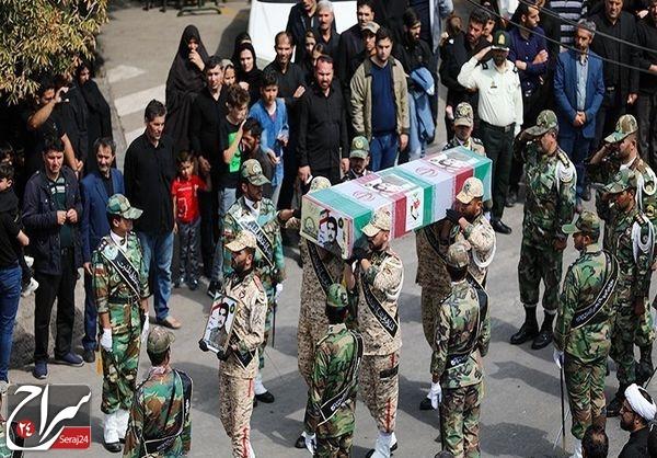 مراسم تشییع پیکر مطهر شهدای حادثه ناوچه کنارک