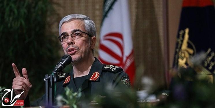 سرلشکر باقری: هرگونه خطای تروریستهای آمریکایی در هر نقطه جهان با پاسخ قاطع ایران روبرو میشود /متن پیام
