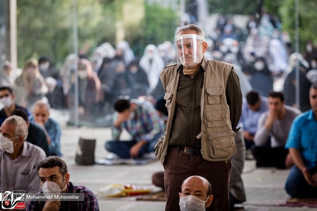 نماز عید فطر در دانشگاه تهران