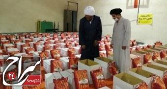 توزیع سه هزار بسته حمایتی به ارزش ده میلیارد و پانصد میلیون ریال شهرستان فیروزکوه در رزمایش مواسات