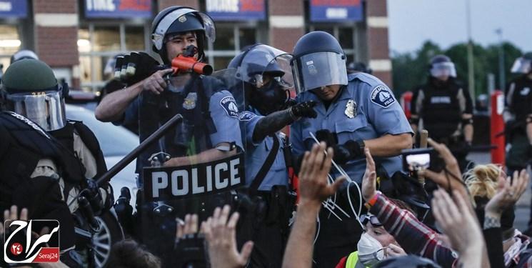 اعتراضات آمریکا| شورای شهر مینیاپولیس، اداره پلیس را منحل میکند