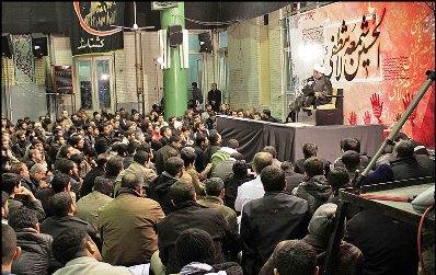 نخستین اجتماع سراسری فاطمیون در مسجد ارک تهران