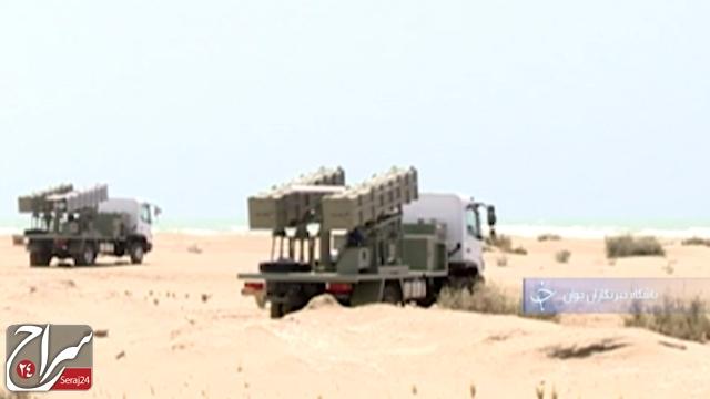 یادآوری آرامش سواحل ایران با غرش موشکهای کروز جدید ارتش