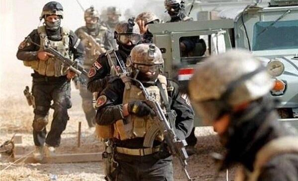 عملیات ارتش عراق علیه داعش در منطقه مرزی با عربستان سعودی