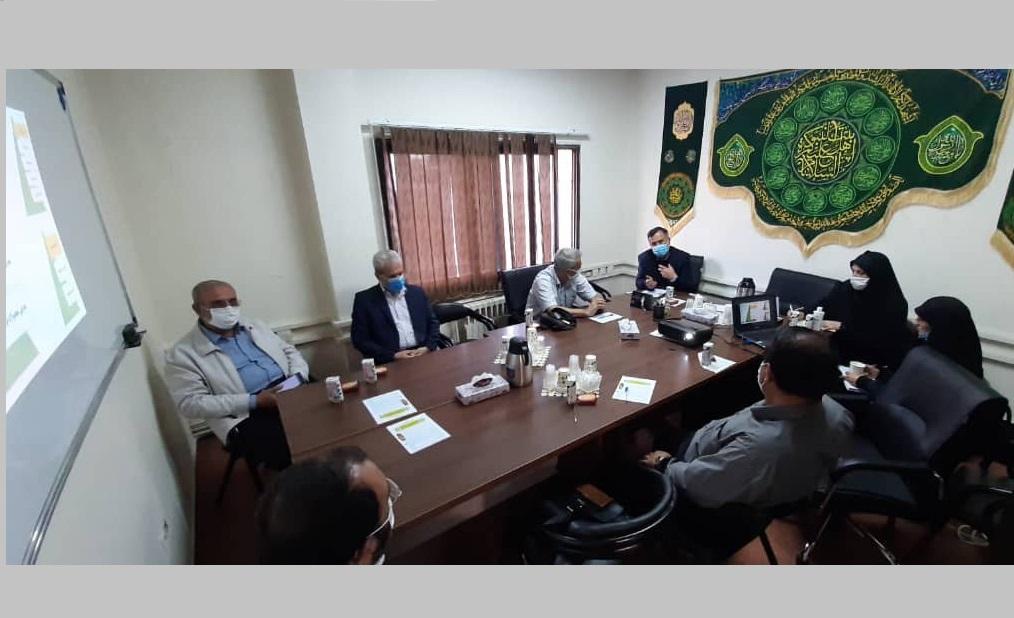 جلسه همفکری کارشناسان حوزه بهداشت و درمان در خصوص مراسم اربعین