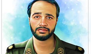 رونمایی از خاطرات شهید مدافع حرم «سعید سامانلو»