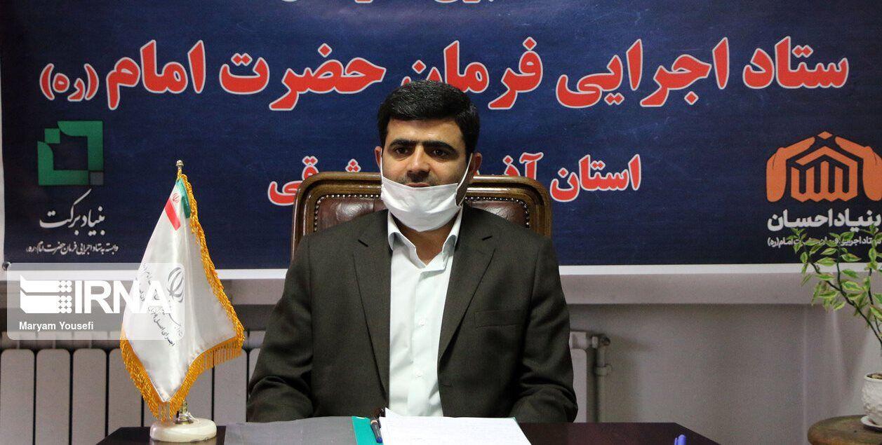 بسته های معیشتی ستاد اجرایی فرمان حضرت امام در آذربایجان شرقی توزیع شد.