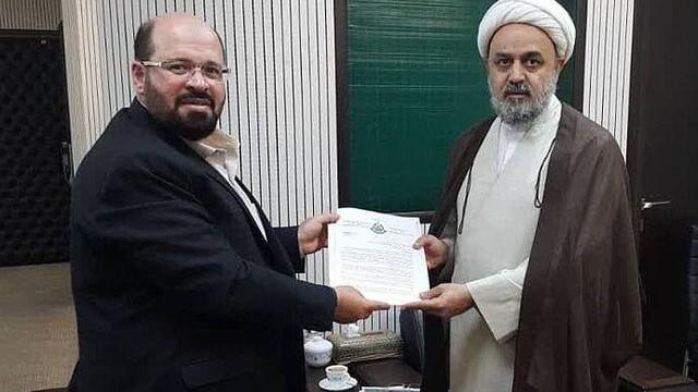 دیدار نماینده جنبش حماس در تهران با دبیرکل مجمع  تقریب مذاهب اسلامی