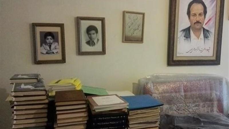 اهدای کتابخانه و دستنوشتههای شهید مسعود علیمحمدی به کتابخانه ملی ایران