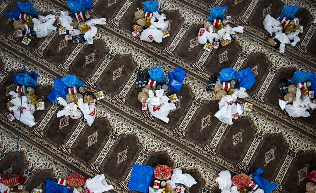 کمک ۸۰۰ میلیونی یک مسجد به نیازمندان