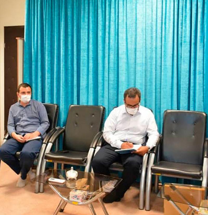 دیدار نماینده ولی فقیه با مسئول  سراج استان آذربایجان غربی