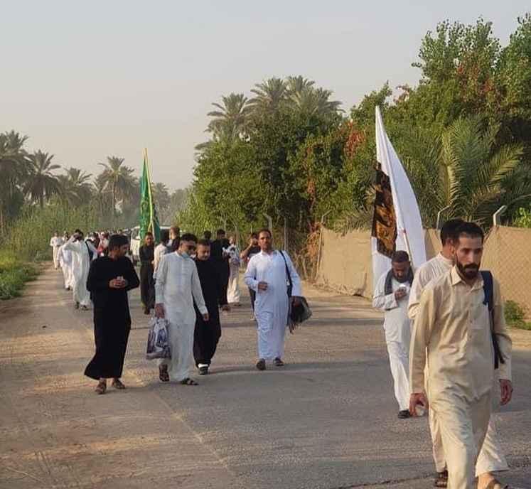 شور حسینی برای تشرف به کربلا در روز عرفه