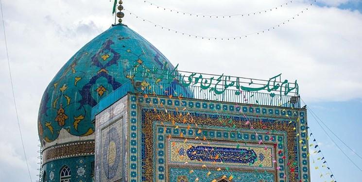 آماده سازی امامزاده صالح برای روز عرفه