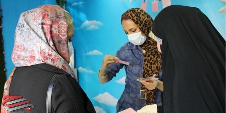 ترویج فرهنگ حجاب در دستان دختران انقلاب