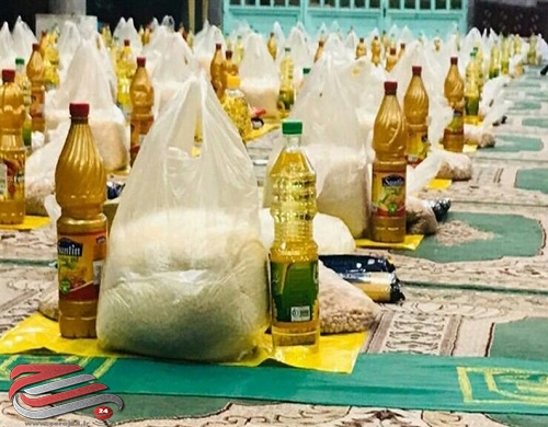۵۰۰ بسته معیشتی  در آران و بیدگل توزیع میشود