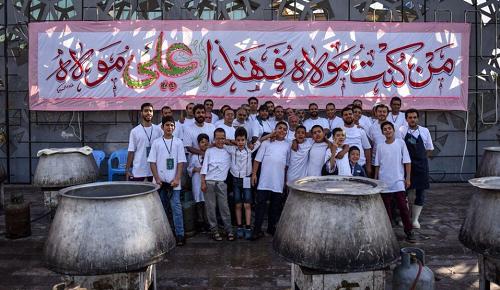 توزیع بیش از ۵ میلیون پرس غذا در عید غدیر