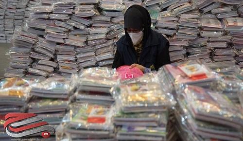 ارسال یک میلیون بسته لوازمالتحریر به دانشآموزان محروم