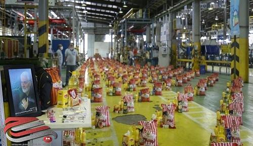 توزیع ۱۰۰ هزار بسته معیشتی بین کارگران سراسر کشور