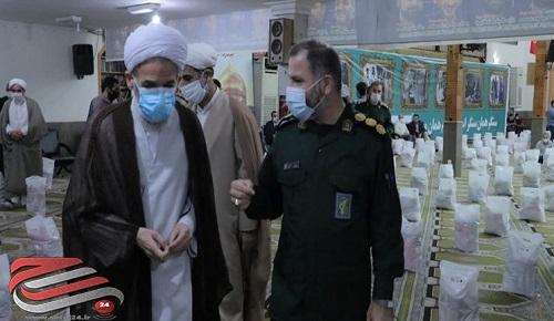 برگزاری رزمایش کمک مومنانه در ساری