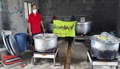 توزیع ۱۵ هزار پرس غذای گرم بهمناسبت عید غدیر در بشاگرد