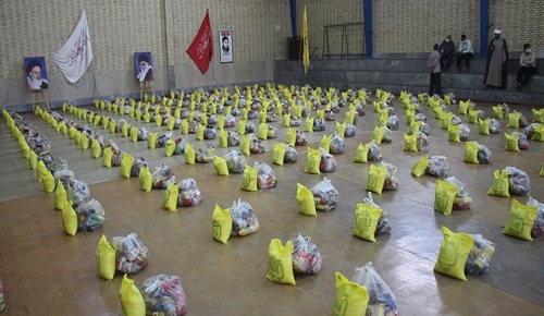 اجرای رزمایش کمک مومنانه در  شهرستان کارون