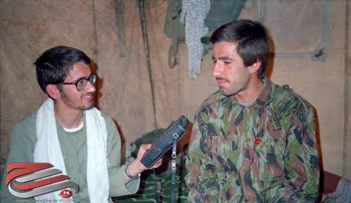 خبرنگار شهدا که خود نیز شهید دفاع مقدس شد