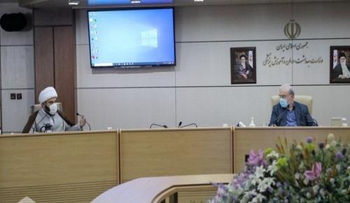 برگزاری دومین جلسه مداحان با رئیس سازمان تبلیغات و وزیر بهداشت