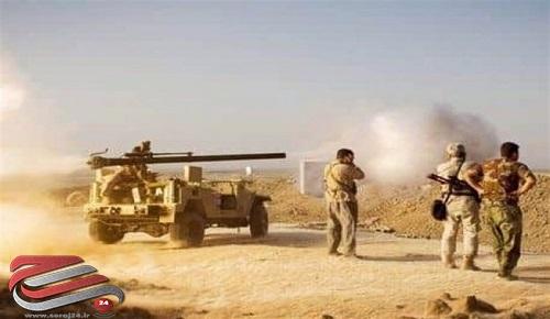 موفقیت چشمگیر حشد شعبی در دفع نفوذ داعش به دیالی و صلاحالدین