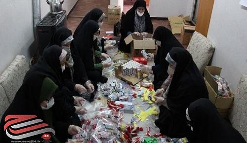 زنجیره ای از کمکهای مؤمنانه در غرب تهران