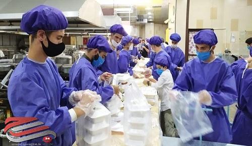 توزیع ۱۰ هزار پرس غذای گرم بین نیازمندان اردبیل