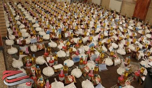 توزیع ۳۰۰ بسته معیشتی در پردیس