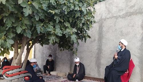 قرار محبان اباعبدالله الحسین (ع) در کوچههای دهدشت+عکس