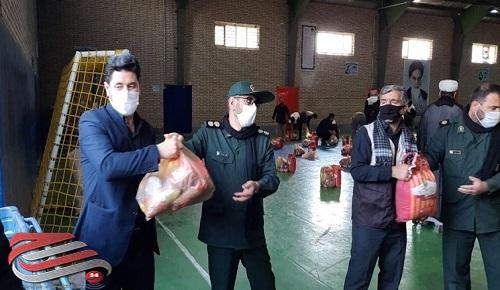 توزیع 200 بسته معیشتی در شهرستان اصلاندوز
