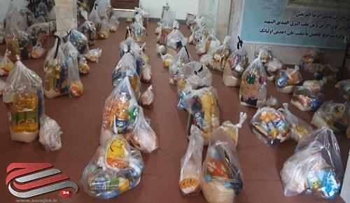توزیع ۱۰۰ بسته غذایی و بهداشتی در شهرستان پارس آباد