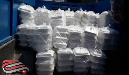توزیع 4000 پرس غذای گرم در روستاهای گنبدکاووس