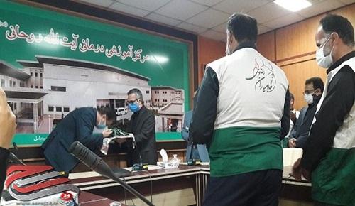 توزیع ۳۰۰ هزار پرس غذای تبرک رضوی بین بیماران و کادر درمانی در مازندران