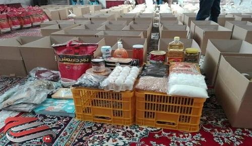 توزیع ماهانه کمک های مومنانه میان نیازمندان ایرانی و غیر ایرانی