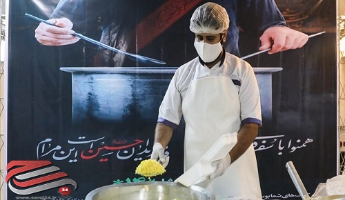 توزیع ۵۰۰ هزار پرس غذای گرم بین محرومان البرزی در طرح اطعام حسینی