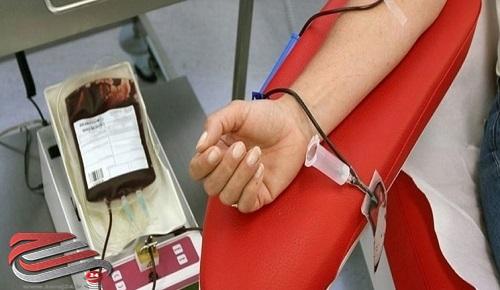 اهدای خون ۵۴۸ نفر درطرح «نذر خون»