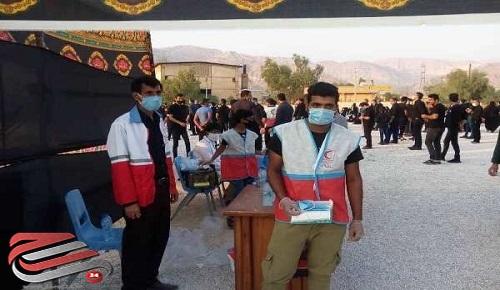 طرح نذر سلامت توسط جمعیت هلال احمر در خوزستان اجرا شد