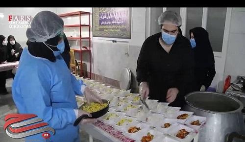 توزیع 150 هزار پرس غذا در بین مددجویان کردستان
