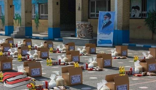 توزیع ۱۱۰ بسته کمک مؤمنانه توسط مرکز نیکوکاری «شهدای مدافع حرم» در ایام محرم