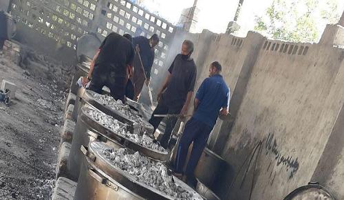 توزیع 3500 بسته غذای گرم در بندر زرک میناب
