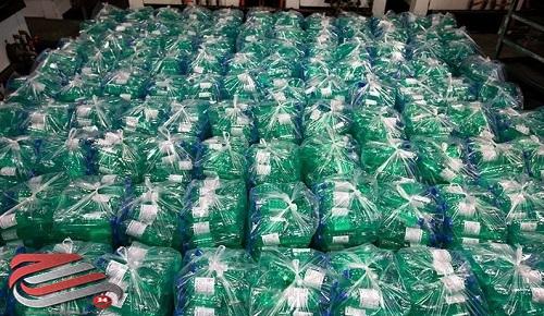 توزیع ۴۰۰۰۰ لیتر محلول ضدعفونیکننده توسط گروههای جهادی کوهدشت