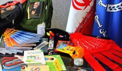 توزیع ۱۰۰۰ بسته لوازمالتحریر و نوشتافزار بین دانشآموزان بی بضاعت