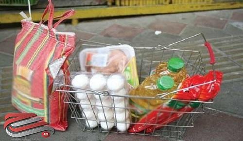 توزیع۹۱۱سبد غذایی در شهرستان بیرجند
