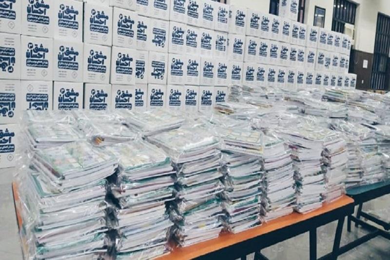 تلاش ۲۰۰ جهادگر برای تدارک ۱۰۰ هزار بسته تحصیلی