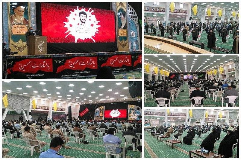 برگزاری سی و چهامین سالگرد شهادت سرلشکر محمود کاوه در حسینیه جماران
